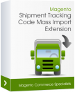 Magento Shipment Tracking Code Mass Import Extension